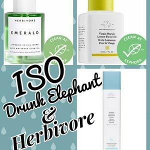 ISO DRUNK ELEPHANT & HERBIVORE PRODUCTS